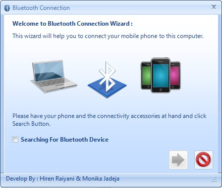 Bluetooth Enabled Application